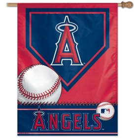 "Los Angeles Angels 27"" x 37"" Banner"