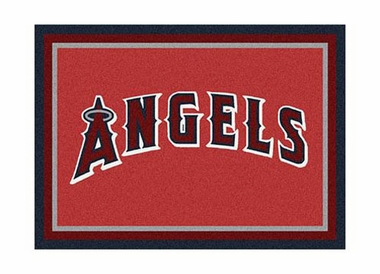 "Los Angeles Angels 3'10"" x 5'4"" Premium Spirit Rug"