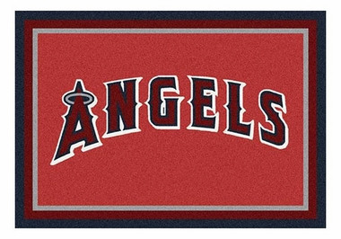 "Los Angeles Angels 5'4"" x 7'8"" Premium Spirit Rug"