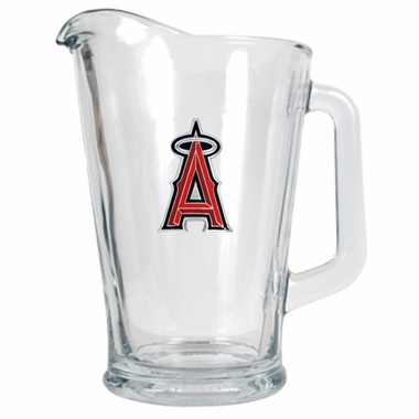 Los Angeles Angels 60 oz Glass Pitcher