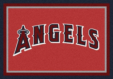 "Los Angeles Angels 7'8"" x 10'9"" Premium Spirit Rug"