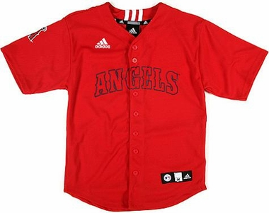 Los Angeles Angels Adidas Youth Replica Jersey