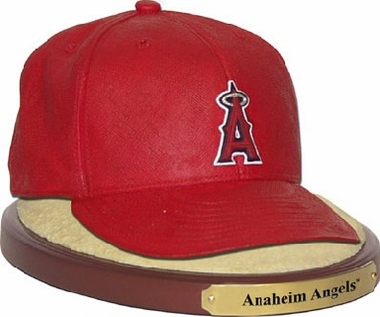 Los Angeles Angels Ball Cap Figurine