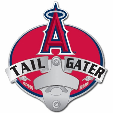 Los Angeles Angels Bottle Opener Hitch Cover