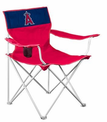 Los Angeles Angels Canvas Adult Folding Logo Chair