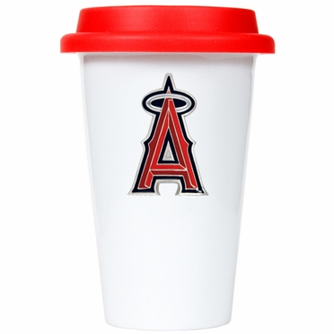 Los Angeles Angels Ceramic Travel Cup (Team Color Lid)