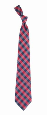 Los Angeles Angels Check Poly Necktie