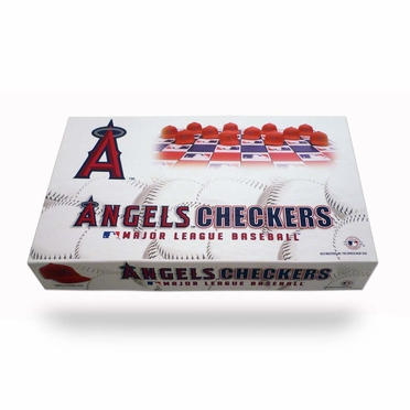 Los Angeles Angels Checkers Set