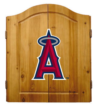 Los Angeles Angels Complete Dart Cabinet
