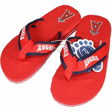 Los Angeles Angels Contoured Flip Flop Sandals