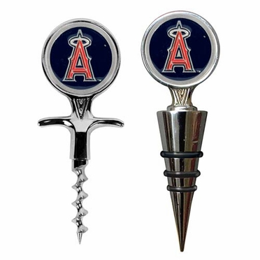 Los Angeles Angels Corkscrew and Stopper Gift Set