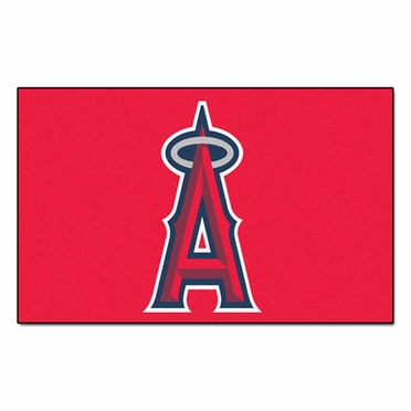 Los Angeles Angels Economy 5 Foot x 8 Foot Mat