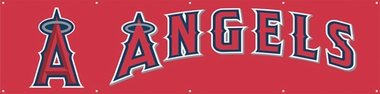 Los Angeles Angels Eight Foot Banner