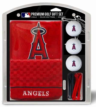 Los Angeles Angels Embroidered Towel Gift Set