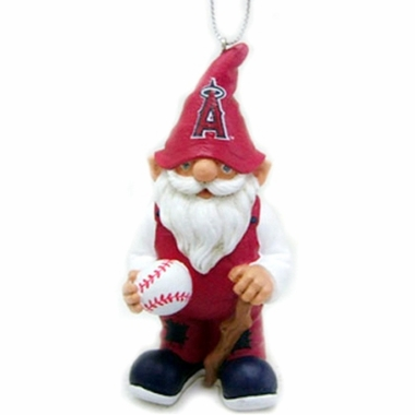 Los Angeles Angels Gnome Christmas Ornament
