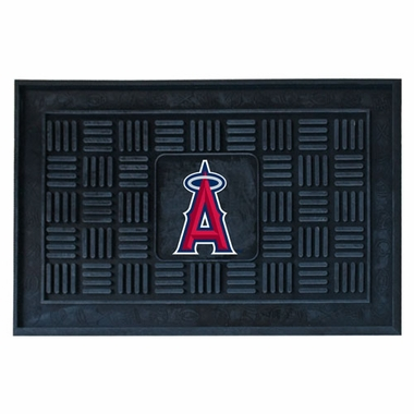 Los Angeles Angels Heavy Duty Vinyl Doormat