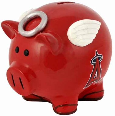 Los Angeles Angels Large Thematic Piggy Bank