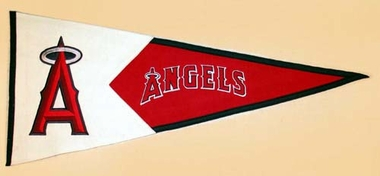 Los Angeles Angels Large Wool Pennant