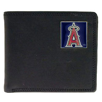Los Angeles Angels Leather Bifold Wallet (F)