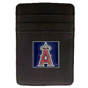 Los Angeles Angels Leather Money Clip (F)