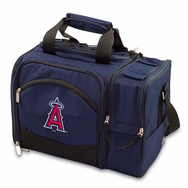 Los Angeles Angels Malibu Picnic Cooler (Navy)