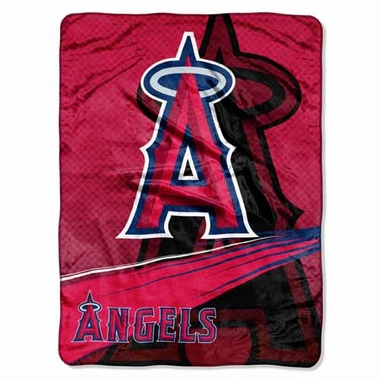 Los Angeles Angels Oversize Plush Blanket