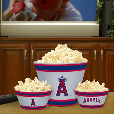 Los Angeles Angels Plastic Serving Set