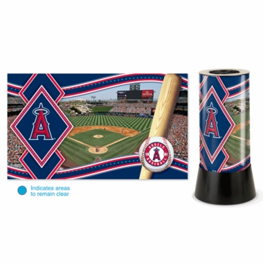 Los Angeles Angels Rotating Lamp