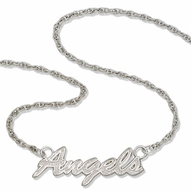 Los Angeles Angels Script Necklace