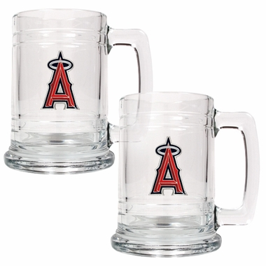 Los Angeles Angels Set of 2 15 oz. Tankards