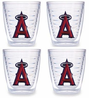 Los Angeles Angels Set of FOUR 12 oz. Tervis Tumblers