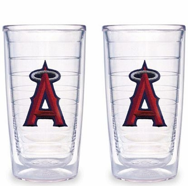 Los Angeles Angels Set of TWO 16 oz. Tervis Tumblers