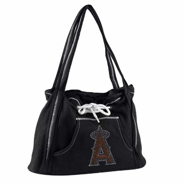 Los Angeles Angels Sport Noir Hoodie Purse