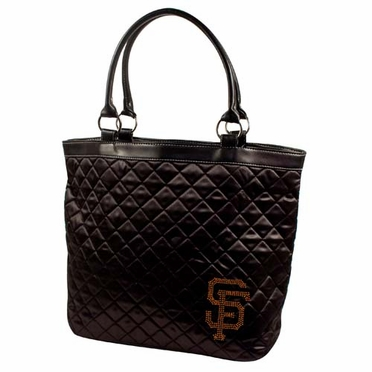 Los Angeles Angels Sport Noir Quilted Tote