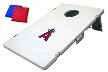 Los Angeles Angels Tailgate Toss 2.0 Cornhole Beanbag Game