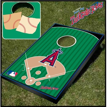 Los Angeles Angels Tailgate Toss Cornhole Beanbag Game