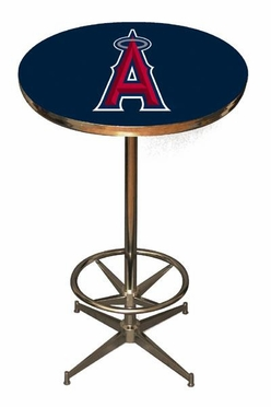 Los Angeles Angels Team Pub Table