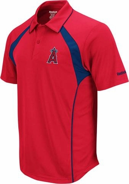 Los Angeles Angels Trainer Performance Polo Shirt