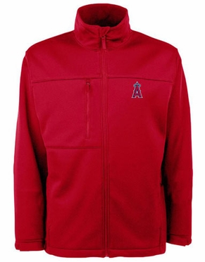 Los Angeles Angels Mens Traverse Jacket (Team Color: Red)