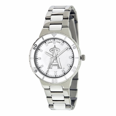 Los Angeles Angels Women's Pearl Watch