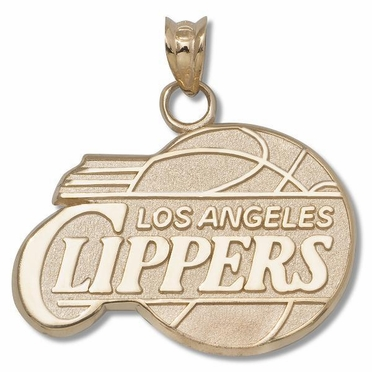 Los Angeles Clippers 14K Gold Pendant