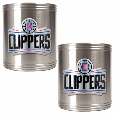 Los Angeles Clippers 2 Can Holder Set