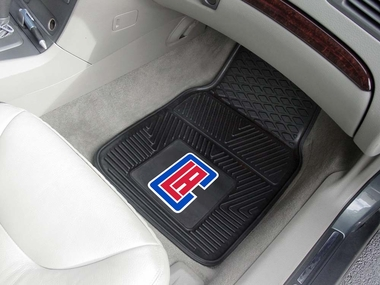 Los Angeles Clippers 2 Piece Heavy Duty Vinyl Car Mats