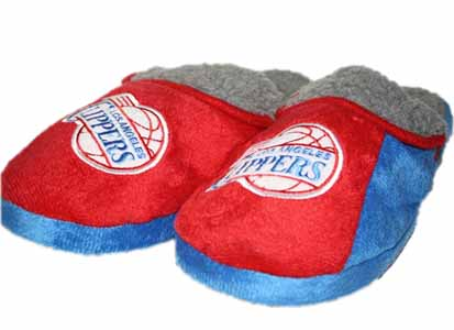 Los Angeles Clippers 2012 Sherpa Slide Slippers - Large