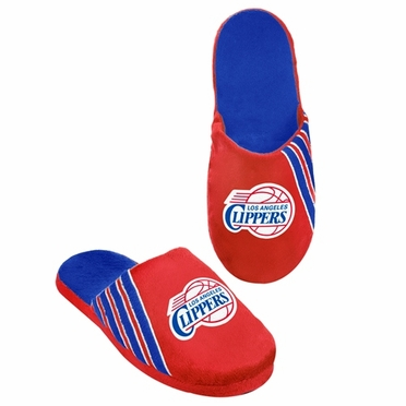 Los Angeles Clippers 2012 Team Stripe Logo Slippers