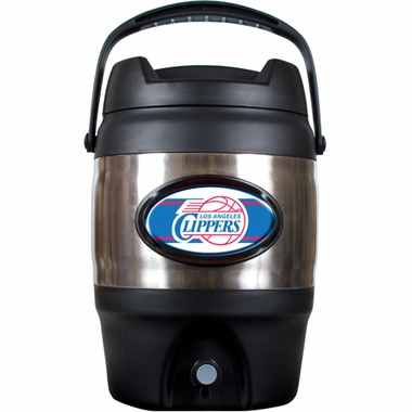 Los Angeles Clippers 3 Gallon Stainless Steel Jug
