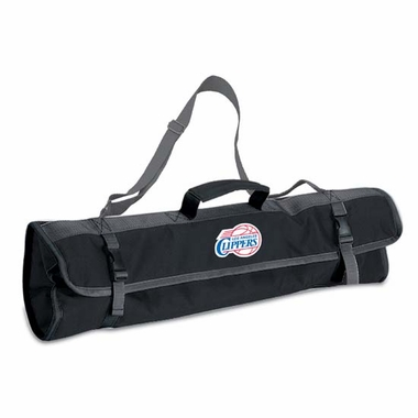 Los Angeles Clippers 3pc BBQ Tote (Black)
