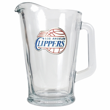 Los Angeles Clippers 60 oz Glass Pitcher