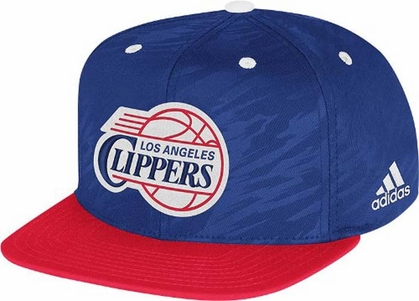 Los Angeles Clippers Adidas 2013 NBA Authentic On Court Snap Back Hat