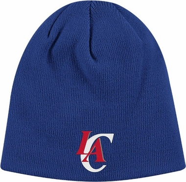 Los Angeles Clippers Basic Logo Cuffed Knit Hat